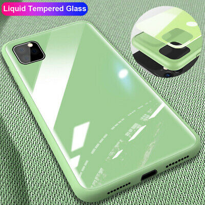 For iPhone 11 Pro Max XR XS X Tempered Glass Case Shockproof Hybrid Bumper Cover