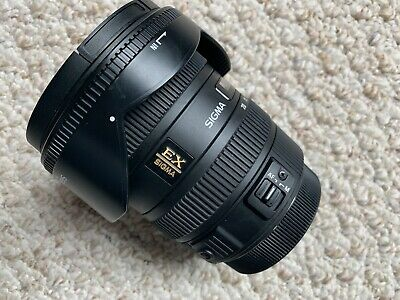 Sigma EX 10-20mm f/3.5 HSM EX DC Lens For Canon