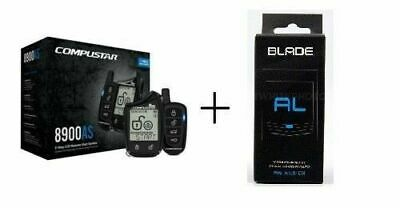 Compustar CS8900-AS All-in-One 2-Way Remote Start + Security & BLADE-AL BYPASS
