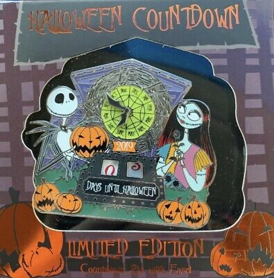 Disney Parks NBC Nightmare Before Christmas Halloween 2019 Countdown Pin LE 3000