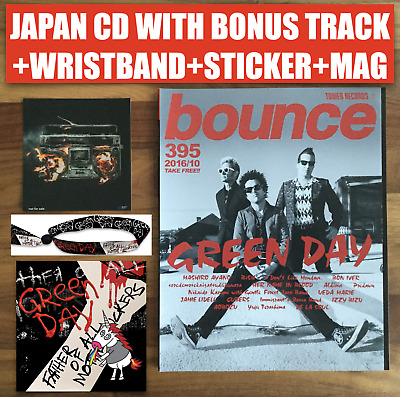 Japan Wristband+Cd With Bonustr & Obi+Sticker+Mag! Green Day Father Of All  2020