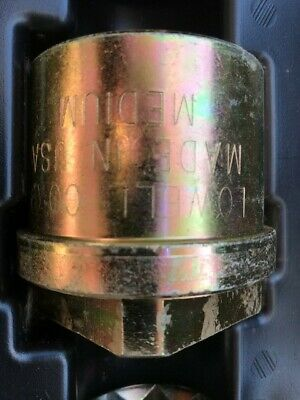 lowell corp hydrant sockets in carrier box, excellent condition