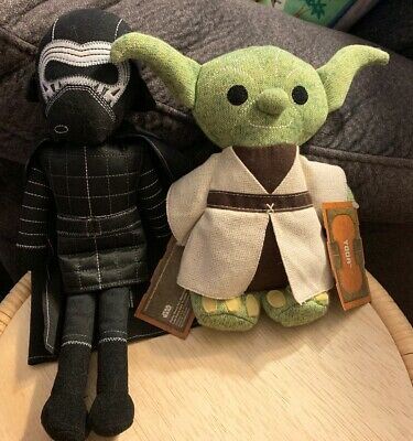 Disney Star Wars Galaxy's Edge Toydarian Toymaker Yoda Jedi & Kyle Ren Plush New