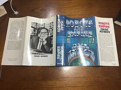 Isaac Asimov, 'Robots and Empire'  Stories Leading to The Foundation Trilogy