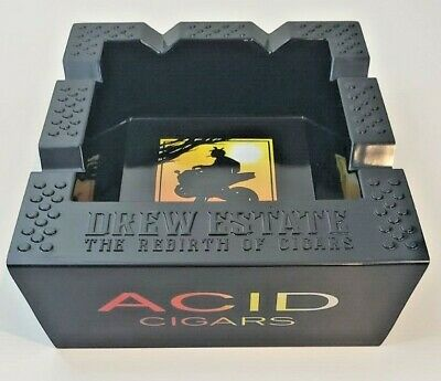 Drew Estate Acid Cigar Logo Ashtray (event only) New In Box REBIRTH OF CIGARS