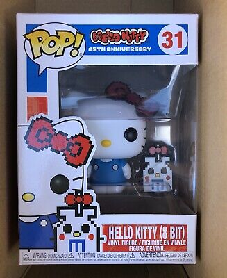 Hello Kitty 8 Bit Funko Pop IN HAND #31 45th Anniversary