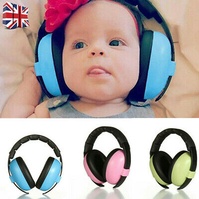 Baby Kids Folding Ear Defenders Muffs Noise Reduction Protectors Child Gifts UK