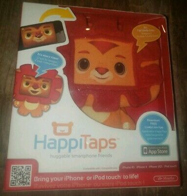 HappiTaps Huggable Smartphone  iPhone Friend Toy 3GS 4 4S i Friend Lively Lion