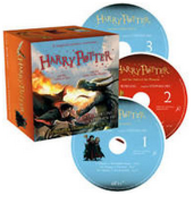 Harry Potter Audiobooks 4& 5 The Goblet of Fire + The Order of The Phoenix 41CDs