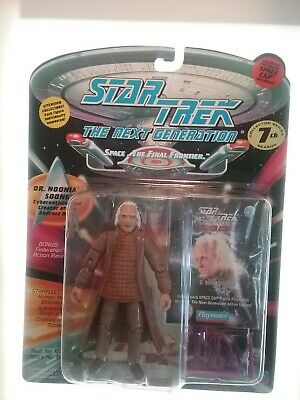 "STAR TREK TNG: Dr Noonian Soong 5"" Action Figure w accessories (new in box)"
