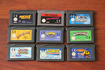 Job Lot Of Nintendo Game Boy Advance Games, Carts Only Inc Harvest Moon, Sonic..