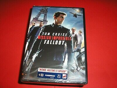 """DVD neuf,""""MISSION IMPOSSIBLE,FALLOUT"""",tom cruise,henry cavill,ving rhames,(3066)"""