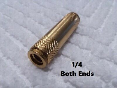 Brass Push Quick Connect Nylon Straight Union Fitting 1/4. 1 Each