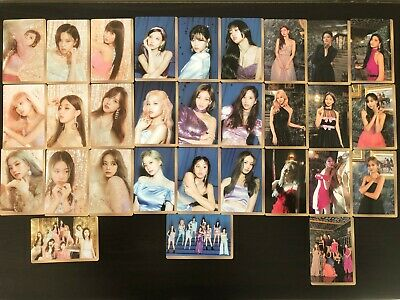 TWICE Feel Special Mini Album Preorder Pre-Order Benefit Photocard Member Set