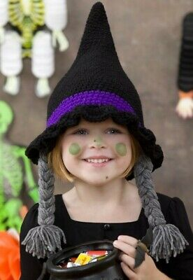 CROCHET PATTERN FOR WITCHES HAT V171