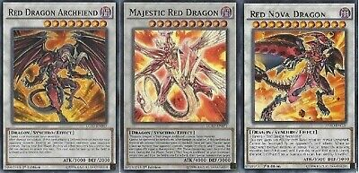 Red Dragon Archfiend Budget Deck - Majestic - Nova - Resonator 47 Cards - Yugioh