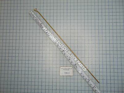 "PENDULUM ROD 11"" or 28 CM WITH HOOK FOR ZAANDAM OR SALLANDSE CLOCK"