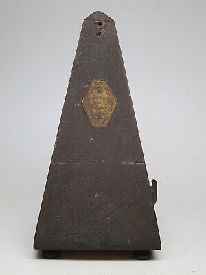 Very Early Antique Working SETH THOMAS Metronome Meironome De Maelzel Paquet