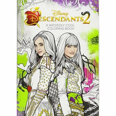 New Descendants 2 A Wickedly Cool Coloring