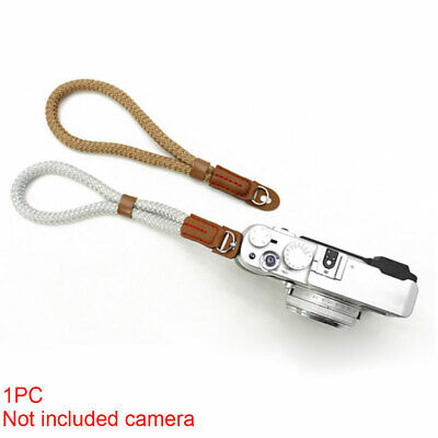 Vintage Photography Camera Wrist Strap Cotton Belt Travel Adjustable Fashion