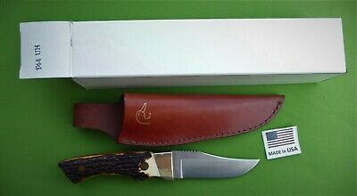 """Schrade-144UH-""""Guides Choice""""-Fixed Blade Knife with Sheath"""