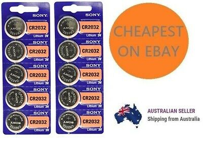 Genuine SONY CR2032 2032 3V Lithium Coin Button Batteries Brand New