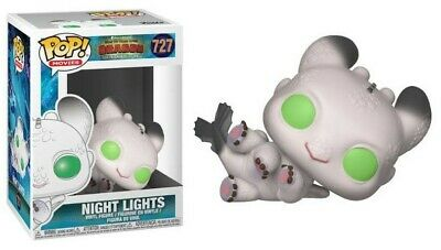 How To Train Your Dragon 3 - Dragons - Pop! - Night Lights II n°727 BOITE ABIMEE