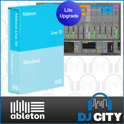 Ableton Live 10 Standard Upgrade License From Live 10 Lite DAW Music Software
