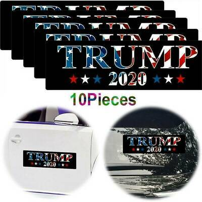 10x Trump 2020 Keep America Great Donald For President Bumper Car Stickers Decal