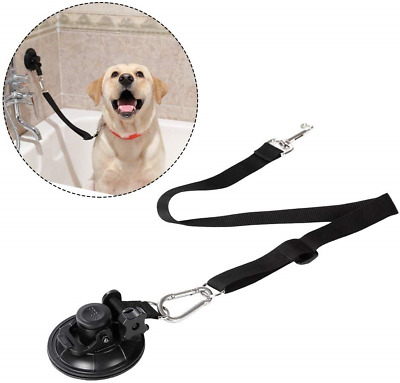 Portable Dog Bathing Restraint,Pet Grooming Suction Cup, Pets Shower Tether ,