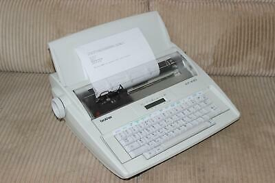Brother AX-430 Electric Typewriter/Word Processor  - 9 Ref TB2