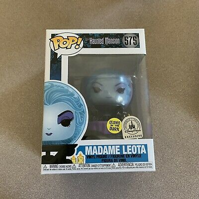 Funko Pop!  Madame Leota Glow 575 Disney Parks Haunted Mansion 50th PRE ORDER