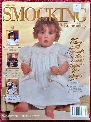 Australian Smocking and embroidery magazine Issue 40