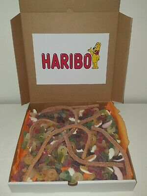 Huge Fizzy Haribo Pick N Mix Box Over 1.5Kg Sweet Hamper Birthday Gifts Present