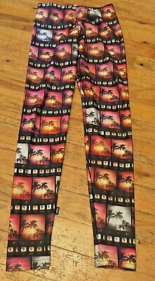 Zara Terez Girls Size Medium (8/10) Palm Tree Leggings