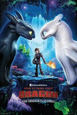 How to Train Your Dragon 3 One Sheet Poster 92cm x 61cm #87