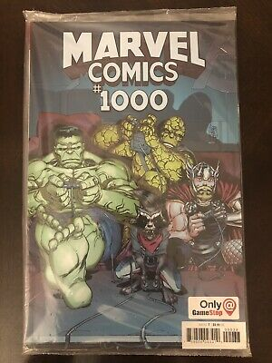 Marvel Comics - Marvel Comics #1000 - Game Stop Variant (Rare)