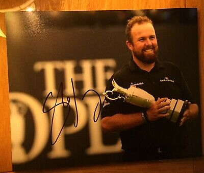 Shane Lowry Open Championship 2019 signed 8x10 photo autographed