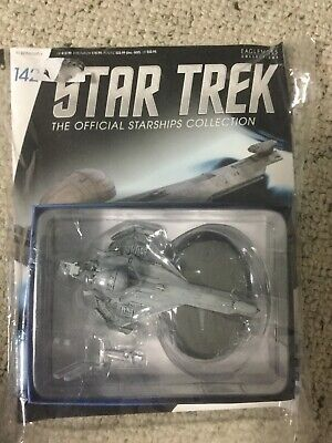 Star Trek Eaglemoss Issue 142 Promellian Battle Cruiser