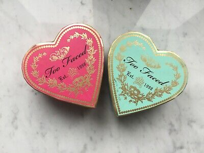 Lot maquillage Too faced Sweetheart Bronzer duo enlumineur et flush Blush