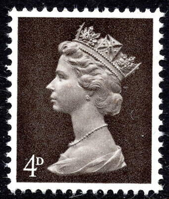 4d SG731Ey / SG731y Machin Definitive Missing Omitted Phosphor Unmounted Mint