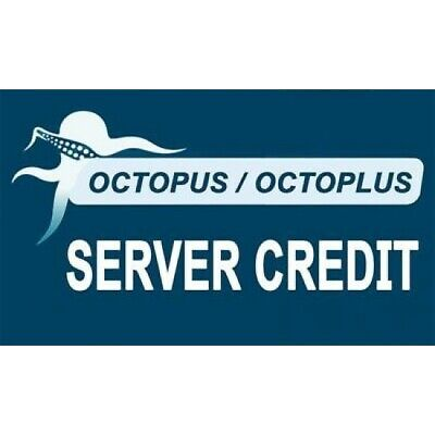 Octoplus Octopus Box Server Credit (100 Pack) Fast