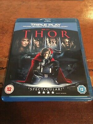 Thor (Blu-ray and DVD Combo, 2011, 2-Disc Set) AVENGERS