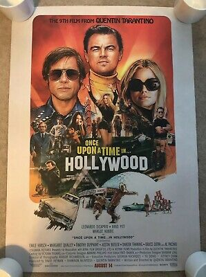 Once Upon A Time In Hollywood Original Single Sided Poster - Heavy Duty Stock