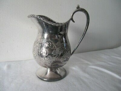 Cooper Bros Silver Plated Milk Jug (Dent)