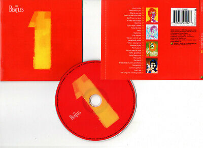 """THE BEATLES """"1 - One"""" (CD) 27 Titres 2000"""
