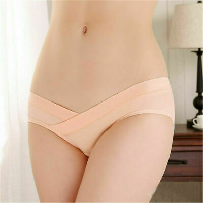 Low Waist Underwear Knickers Briefs Panties Pregnant Maternity Womens Gifts