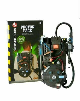 Ghostbusters Proton Pack Costume Spirit Halloween Replica light up w/ Batteries!