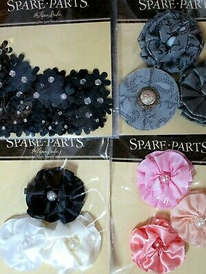 Spare Parts Flower Pack Your Choice of Style//Color Retired