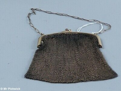 1930s Art Deco Mesh Purse